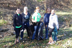 Girl Scouts Adopt a Trail