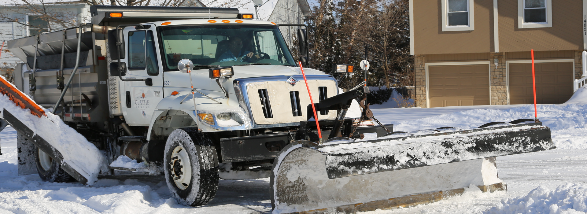 Snow Plow homepage rotator