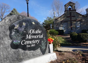 Olathe Memorial Cemetery Placed On National Register of Historic Places