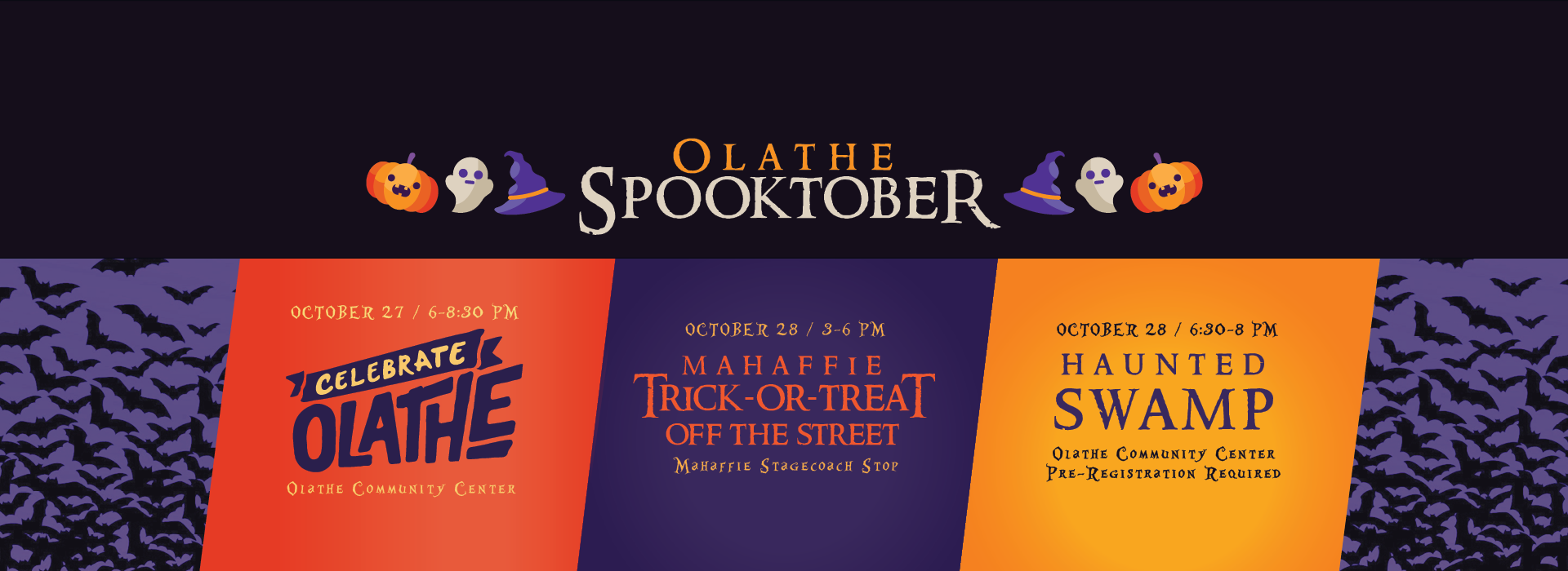 Spooktober Celebrate Olathe Trick-or-Treat Halloween