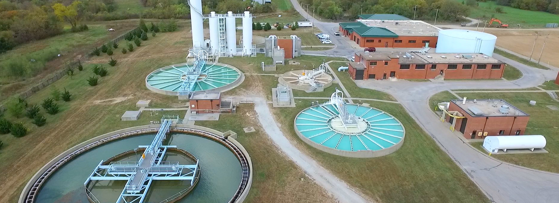 Water Treatment Plant flyover image