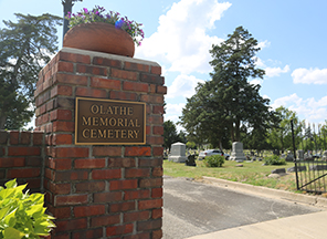 Olathe Historic Cemetery Tours rescheduled due to rain