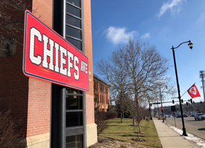 Santa Fe Street unofficially named Chiefs Avenue for Super Bowl Week.