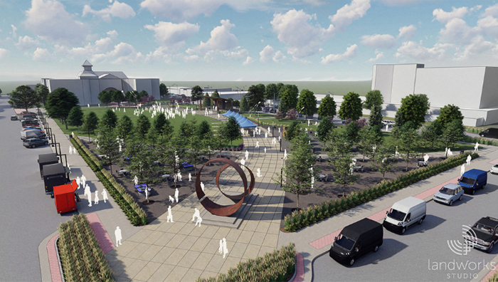Johnson County Square rendering image